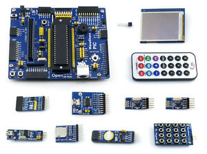 Pic Development Board A For Pic18f Series Pic18f4520 Mcu 2 2inch Lcd Modules
