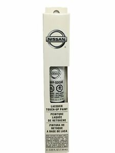 Oem Nissan Pearl White Qab Touch Up Paint Clear Coat Pen New Free Shipping