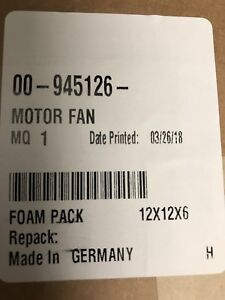 Hobart Rotisserie Parts Ka7em Fan Motor Assembly 00 945126 New In Box