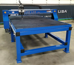 5x10 Star lab Cnc Plasma Table Dual Drive Precision Water Bed Hypertherm