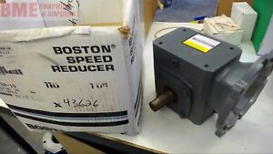 Boston Gear F71815b5g Left Angle Gear Reducer 15 1 Ratio 0 91 Input Hp