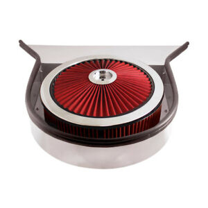Spectre 98423 Air Filter Assembly 4in Tall Red