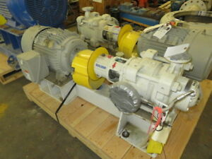 Sulzer Multistage Ring Section Pump Model Mbn25 180 03 With Base And Motor