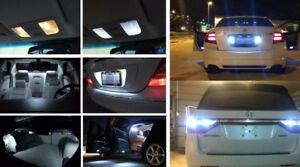 Fits 2007 2012 Chevrolet Chevy Tahoe Reverse Hid White Interior Led Lights 20x