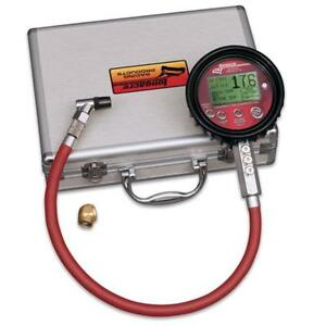 Longacre 53009 Ultimate Digital Tire Pressure Gauge 0 60 Psi