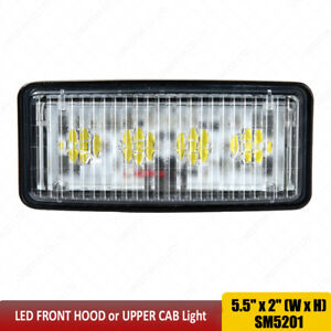 5 5x2 Led Headlights For John Deere 8100 8200 8300 8400 8110 8210 Re306510