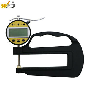 Paper Measurement Tool 0 10 Mm 0 01 Mm High Accuracy Digital Thickness Gauge