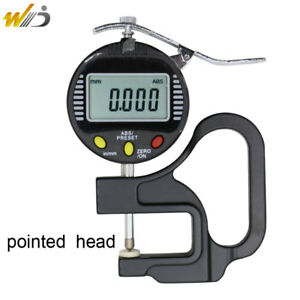 Digital Thickness Gauge 0 001 Mm Micron Thickness Gauge With Pointed Head