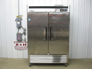 Turbo Air Maximum Two 2 Door Stainless Steel Commercial Reach In Freezer Msf49nm