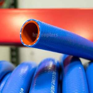 1 1 4 Id Flexfab 5526 Blue Silicone Heater Hose 32mm 350f Radiator Coolant 1 25