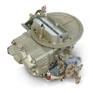 Holley Carburetor 4412 C 500 Cfm Hand Choke