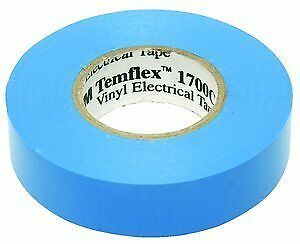 100 Pack 3m Temflex 1700c Blue 3 4 X 66 General Use Vinyl Electrical Tape