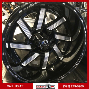 20x12 Fuel Moab On 33 12 50r20 Gloss Black Wheels With Off Road Tires