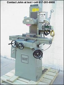 6 X 12 Surface Grinder Mitsui seiki Msg 200mh Walker Chuck Mitutoyo Dro