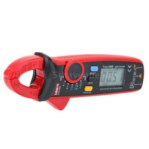 Handheld Digital Clamp Meter Multimeter Lcd Voltmeter Ammeter Auto Ranging T6u1