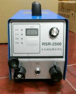 Capacitor Discharge Stud Bolt Plate Welder For Welding Bolt Plate Insulaine Of