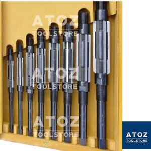 8 Pieces Set H4 To H11 Adjustable Hand Reamer Set Capacity 15 32 To 1 1 16