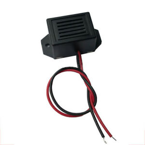1 2 24v Electronic Active Buzzer Mechanical Vibration With Flying Leads