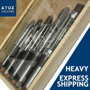 5 Pieces Set Adjustable Hand Reamer H12 To H16 Capacity 1 1 16 2 7 32 New