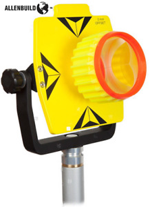 Single Tilt Prism Set With Case fits All 0 30mm Offset Total Stations surveying