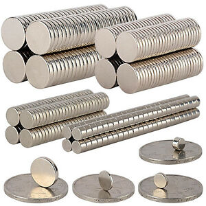 5 100pcs Super Strong Round Disc Magnets Rare earth Neodymium N35 6 1mm 10 2mm