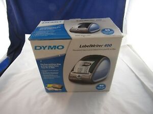 Dymo Labelwriter 400 Label Printer W Box Manuals Power Adapter Usb Cd