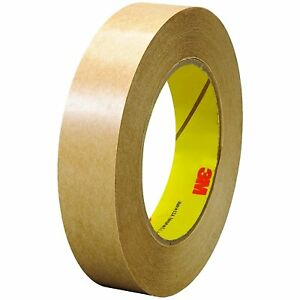 465 Adhesive Transfer Tape 465 Clear 1 In X 60 Yd 2 0 Mil pack Of 6