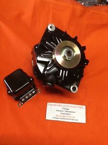 1964 70 Buick Wildcat 135 Amp High Performance Alternator In Black