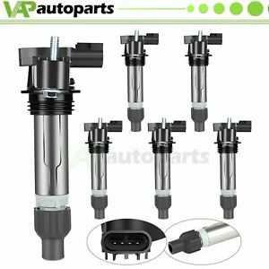 6 Ignition Coil Pack For Chevy Traverse Cadillac Ats Cts Saturn Gmc Acadia Uf569