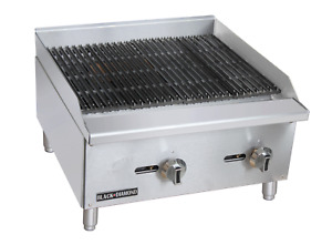 Commercial Kitchen Countertop Natural Gas Char broiler 24