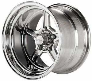 Billet Specialties Street Lite Polished 15 X 10 Inch Wheel