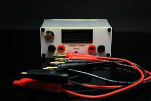 New 4 wire Resistance Tester Milliohm Resistor Milliohm Test Meter Dc12v