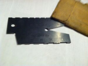 Starrett Acme Thread Gage