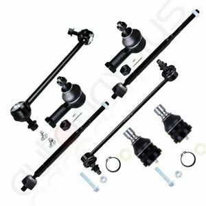 8pc For 1999 2005 Mitsubishi Eclipse Front Suspension Kit Tie Rods Ball Joints