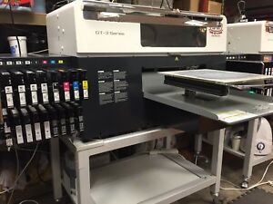 Brother Gt 3 Series T shirt Tee Printer Runs Perfect Direct To Garment Ink