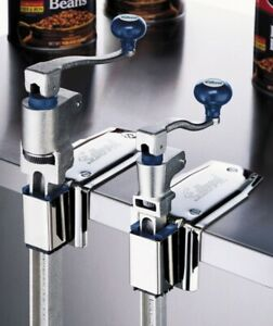 Edlund U 12s Manual Quick Change Can Opener Standard Length Bar Stainless Base