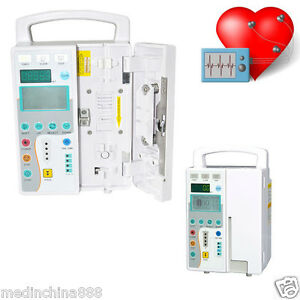 Lcd Display Infusion Pump Iv Fluid Administration Audible visual Alarm Supply Ce