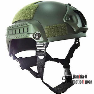 MICH2001 Helmet for Airsoft 0.7 Kg Airsoft Side Rail