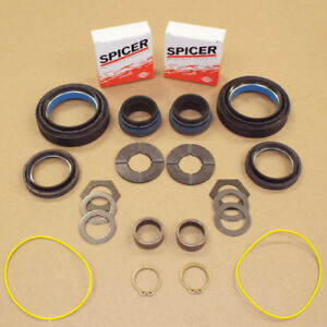 Axle Bearing Seal And Small Parts Kit Ford Superduty Dana 50 60 Front 99 04