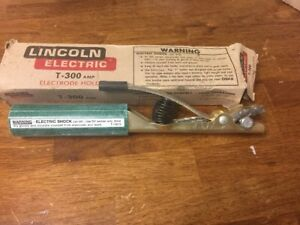 Lincoln Electrode Holder T 300 Amp For Welding Machine