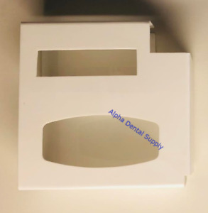 Dental Medical Combination Glove And Mask Wall Mount Dispenser White