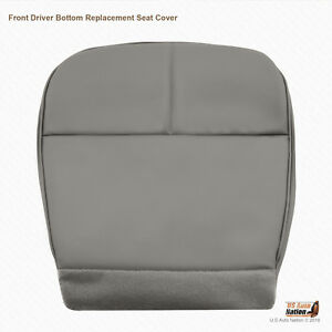 1992 1993 Ford E350 E450 Econoline Van Driver Bottom Synthetic Leather Graycover