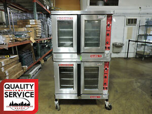 Blodgett Mark V 111 Commercial Double Electric Convection Oven
