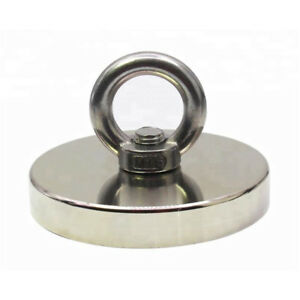 1200 Lbs Pull Force Strong Neodymium Round Hippo Fishing Magnet 1000 Recovery