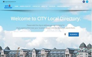 Local Business Directory Website For Sale Hosting Included