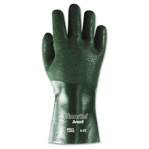 Snorkel Chemical resistant Gloves Size 10 Pvc nitrile Green 12 Pr