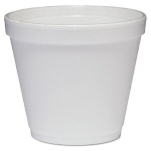 Food Containers Foam 8oz White 1000 carton Dcc 8sj12