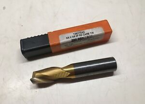 Hertel Solid Carbide 5 8 End Mill 5 8 X 5 8 2f Se Carbide Tin New In Box