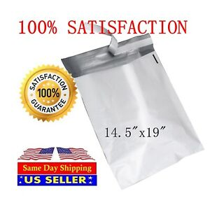 14 5x19 Poly Mailers Shipping Envelopes Packing Self Sealing Bags st Shipmailers