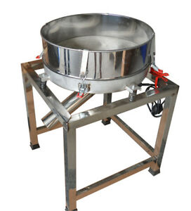 New Vibratory Screener Sifter deck Screener powder Sieve automatic 110v 300w Hot